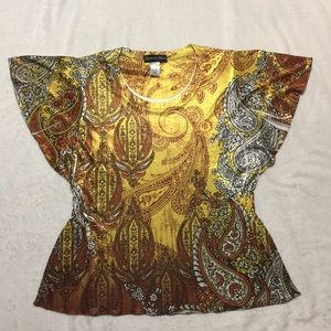 Appropriate behavior top size XL yellow